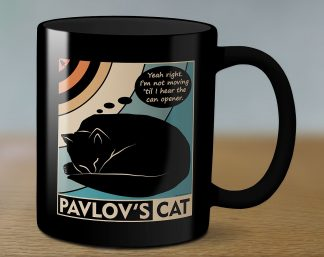 Pavlov's cat mug 11 oz