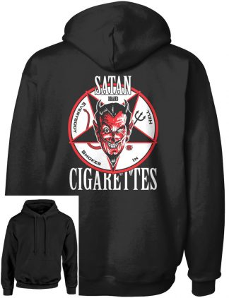 Men's Satan Cigarettes Pull-Over Hoodie