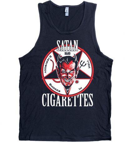 Satan Cigarettes Men's Devil Tank Top